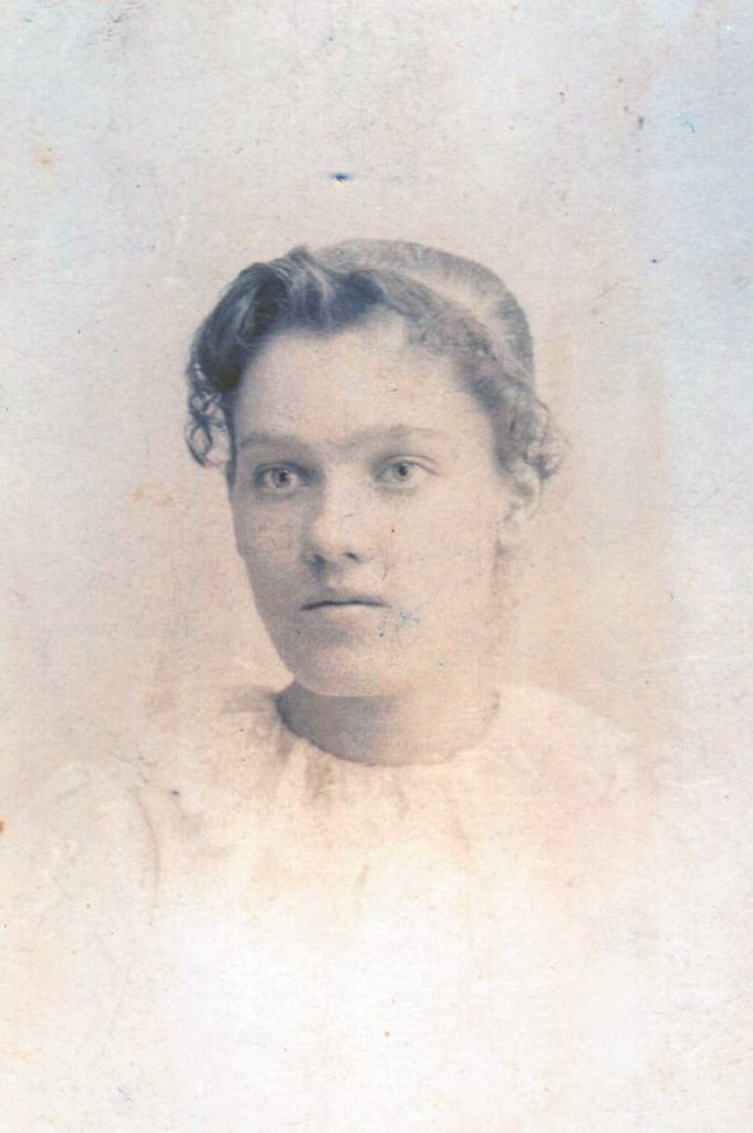 Claire P. Walker.   (Photograph provided by and in the collection of Johnny Taylor, Marshall, TX, 2016)