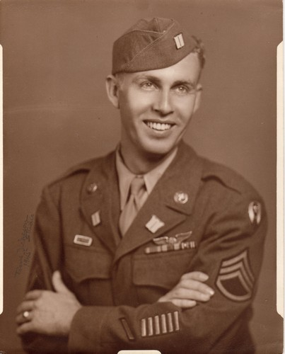 H. C. (Smitty) Smithen, Jr., c. 1945.   (Photograph provided by and in the collection of Johnny Taylor, Marshall, TX, 2017)